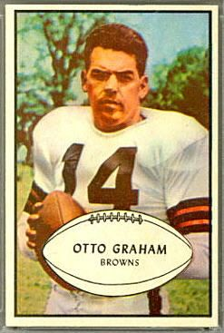 Otto Graham - 1953 Bowman #26 - Vintage Football Card Gallery