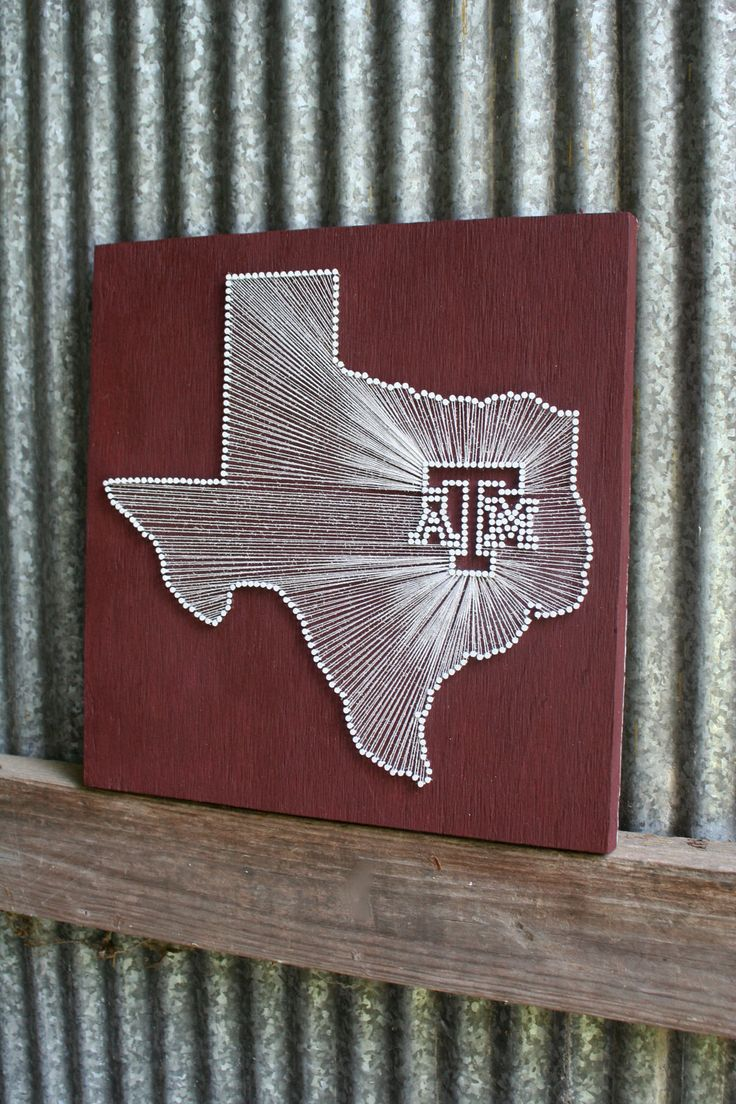 25+ best ideas about Texas string art on Pinterest | Nail string ...