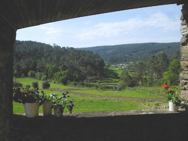 View from Upper Roma´s Covered Terrace
