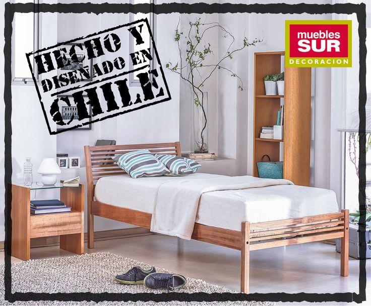 """Para celebrar el mes de la patria les presentamos nuestra colección de muebles """"Hecho en Chile"""".   Recuerda que puedes comprar online desde todo Chile en www.mueblessur.cl o visitar nuestras tiendas en Santiago y Concepción."""