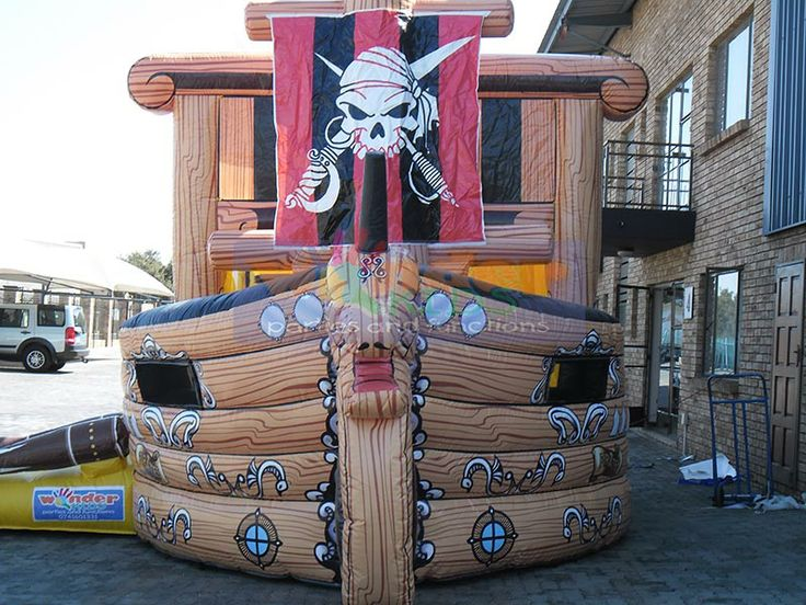 Pirate Ship Jumping Castle   http://www.wonder-parties.co.za/