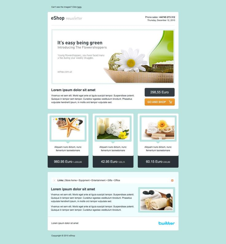 Best Newsletter Templates Images On Pinterest Email - Email brochure template