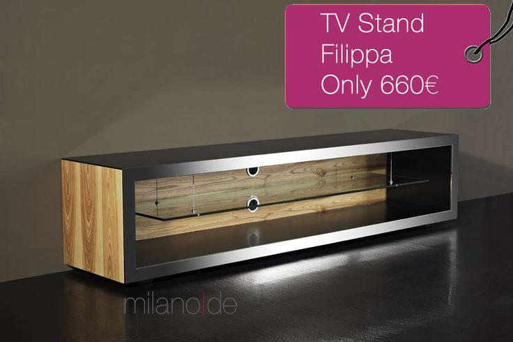 Απίστευτη Προσφορά! Έπιπλο τηλεόρασης Filippa από καρυδιά και μέταλλο μόνο με 660€.  http://www.milanode.gr/salonia/epipla-tileorasis/epiplo-tv-filippa  #επιπλα #milanode #τηλεορασης #tvstand #καρυδια #μεταλλο