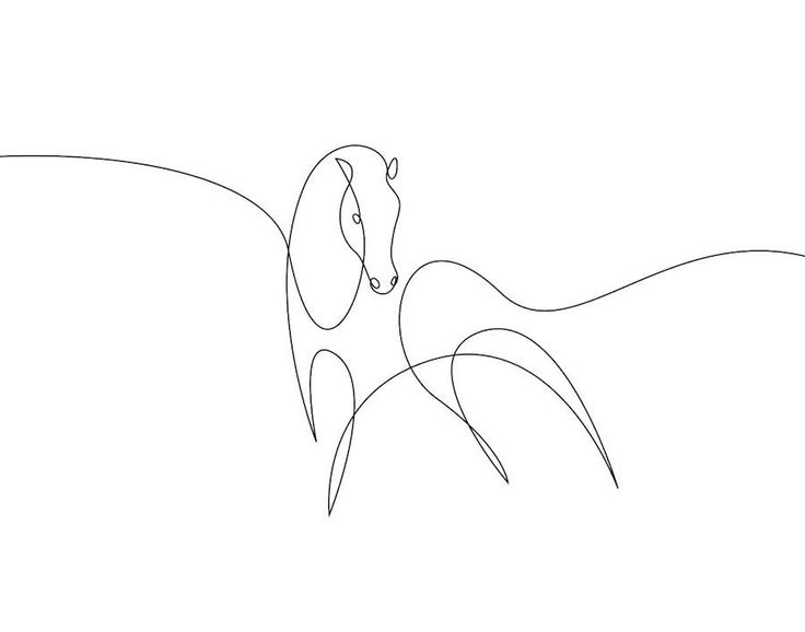 New Series of Animals in One Line by Differantly – Fubiz Media