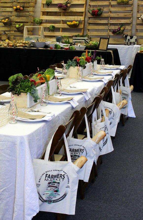 Teacher Appreciation Luncheon ~ Farmers Market Theme #TeacherAppreciation #FarmersMarket