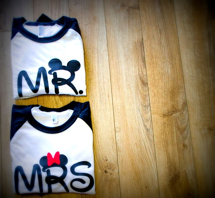 Mr and Mrs Disney couples shirts disney trip just married engagement gift honeymoon by SPREADiNK on Etsy https://www.etsy.com/listing/216073418/mr-and-mrs-disney-couples-shirts-disney