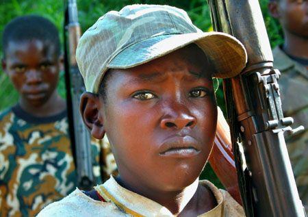 enfant | Campagne choc contre les enfants soldats
