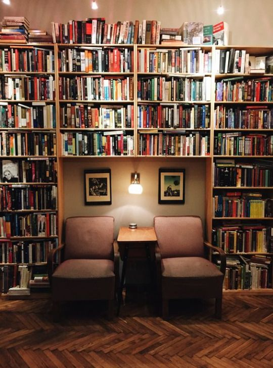 The Reading Nook; a recliner would be better methinks, or a couch/loveseat.