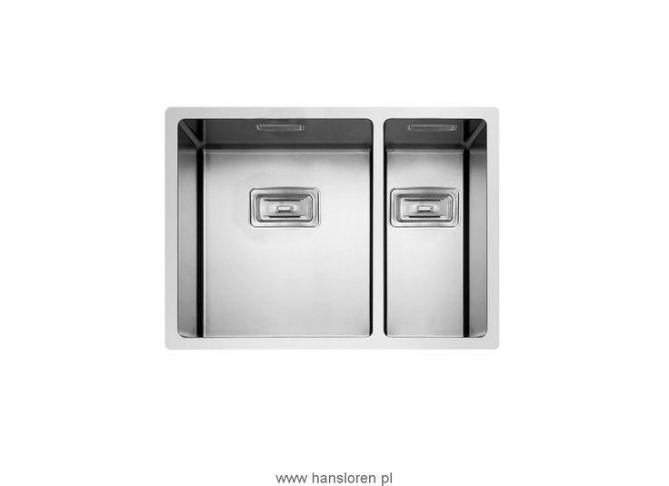 Box Lux 55 Hansloren by Rodi zlewozmywak podblatowy 575x440 korek manulany stal…
