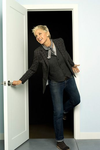 Ellen Degeneres is by far one of my favorite people. She is just so goofy and never fails to make me laugh and puts me in a great mood!