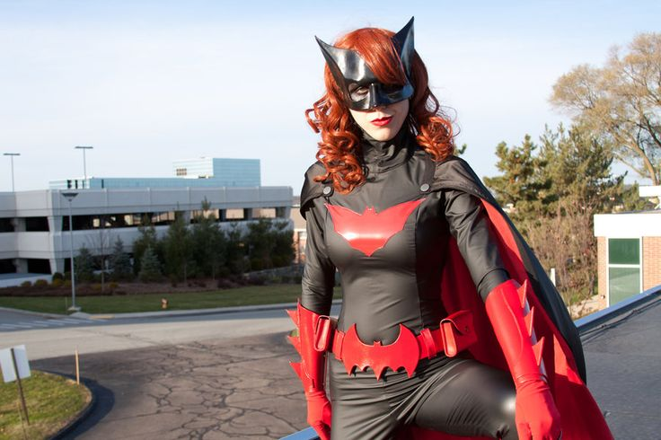The Literary Assassin: custom Batwoman costume