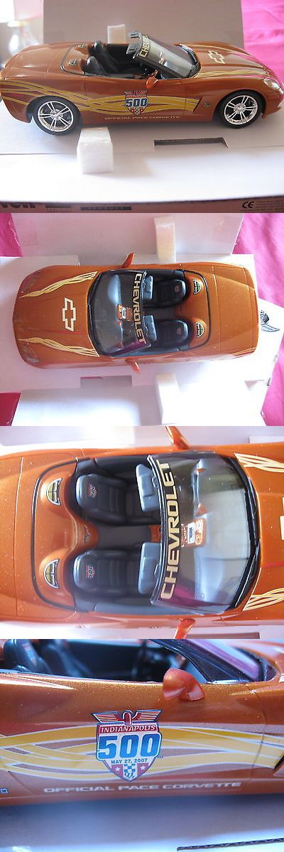 Promo 2592: 2007 Corvette Indy 500 Pace Car Official Chevrolet Chevy Promo Model Car -> BUY IT NOW ONLY: $35 on eBay!