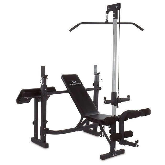 Gym Total Body Home Workout Fitness Exercise Training Equipment Bench Press Fit #Unbranded