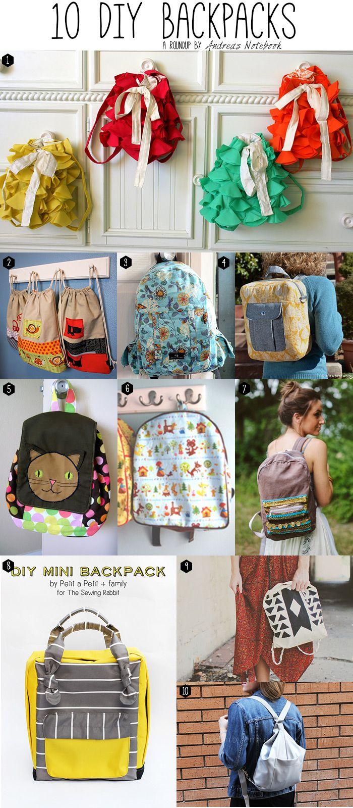 Best 25+ Backpack tutorial ideas on Pinterest | Diy bags tutorial ...