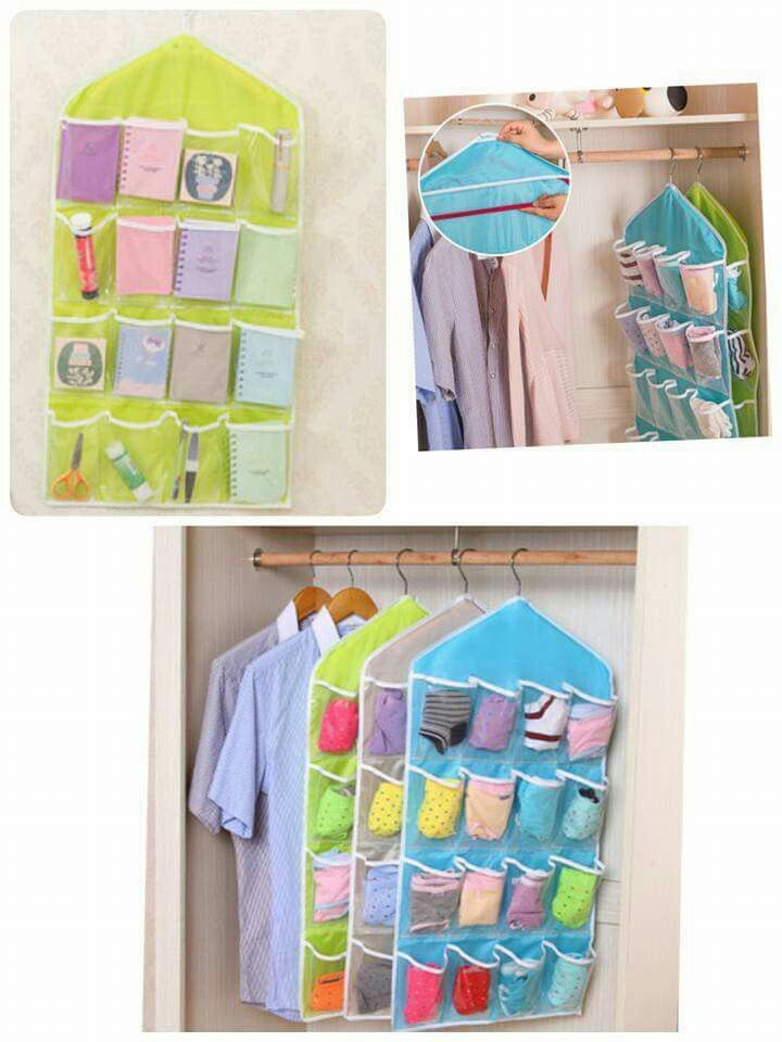 DIY จัดระเบียบในตู้ จร้า  ราคาชิ้นละ 99 บาทเท่านั้นคะ Line : kirin-shop