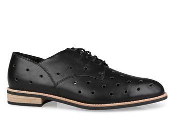 AMBER  : Lace Shoe : Heel Low