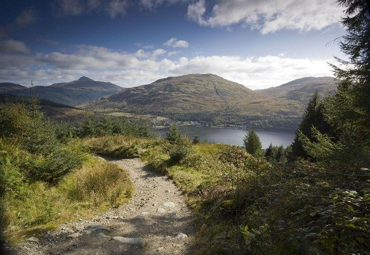 Loch Lomond Trossachs Ecosse