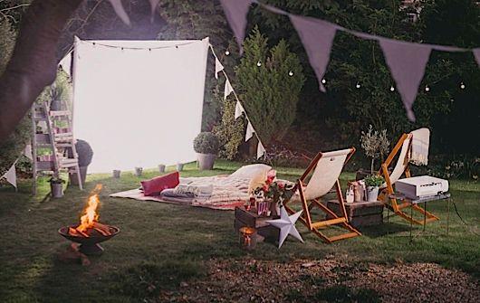 Outdoor cinema | Gardens Illustrated