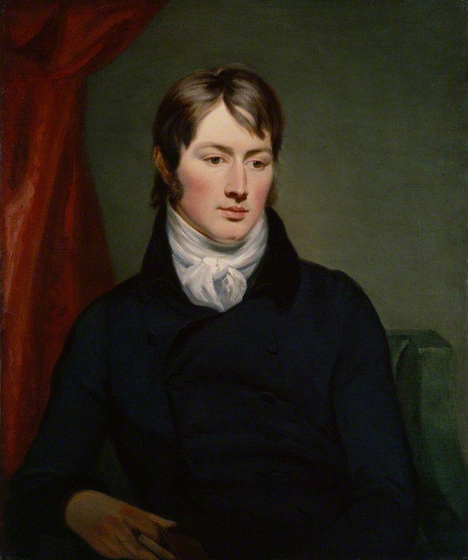 Mr Hunter OR John Constable by Ramsay Richard Reinagle, circa 1799.