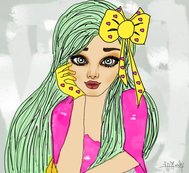 Mejores 56 imágenes de Mis dibujos de chicas en Pinterest | Chicas ...