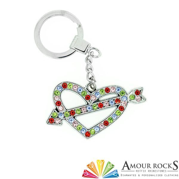 Love Heart Arrow Key Chain | Gift