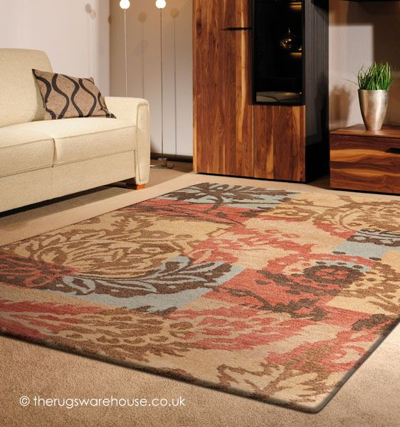 Gardenia Rug A Fl Patterned 100 Wool Hand Knotted Http