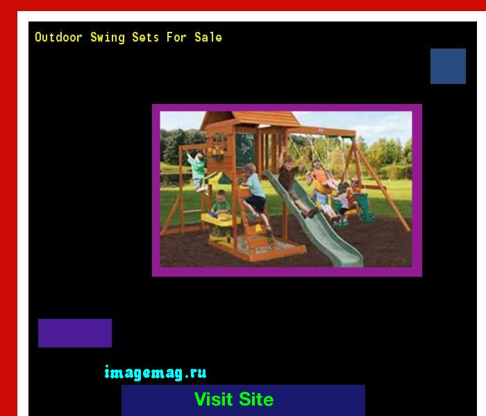 Outdoor Swing Sets For Sale 135144 - The Best Image Search