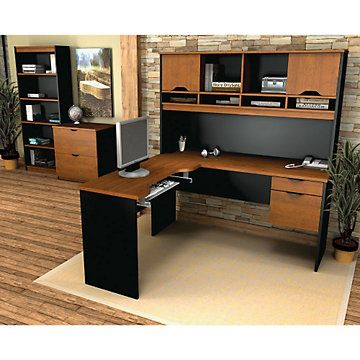 corner desk modern home office innova l desk office grouping set