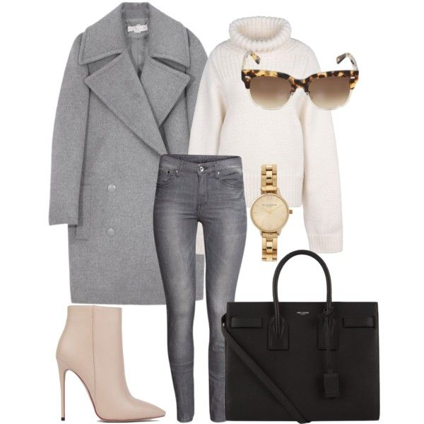 Sweater weather! by emmaschele on Polyvore featuring polyvore, fashion, style, STELLA McCARTNEY, H&M, Akira Black Label, Yves Saint Laurent, Olivia Burton and Gucci