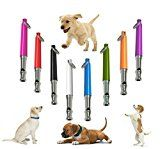 CreaTion® Dog Whistle to Stop Barking,Adjustable Ultrasonic Sound For Repellent, Obedience and Training Aid