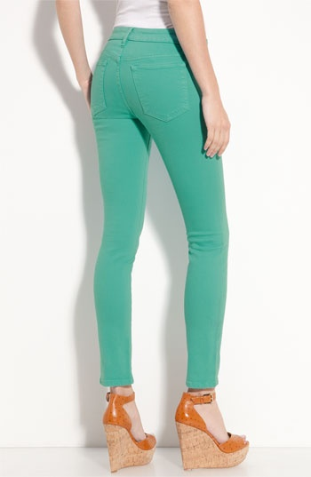 Joe's High Rise Skinny Jeans (Baltic Wash) available at Nordstrom