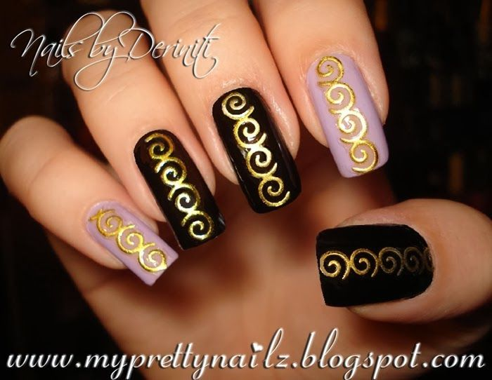 25 legjobb tlet a pinteresten a kvetkezvel kapcsolatban edgy my pretty nailz super easy edgy nail art design video tutorial born prinsesfo Choice Image
