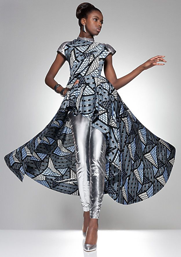Vlisco Parade Of Charm Fashion Look