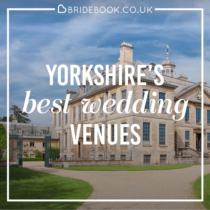 Discover your dream Yorkshire wedding venue today! With the UK's largest supplier directory, Bridebook will help you find the venue that's just right for you.