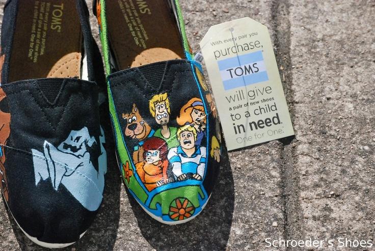Scooby Doo Toms