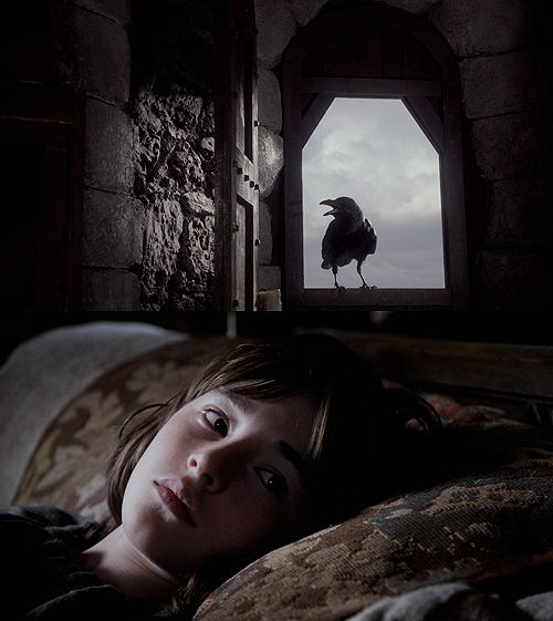 Game of thrones, Bran Stark. A paralyzed boy who can fly in his dreams and see through the eyes of creatures.