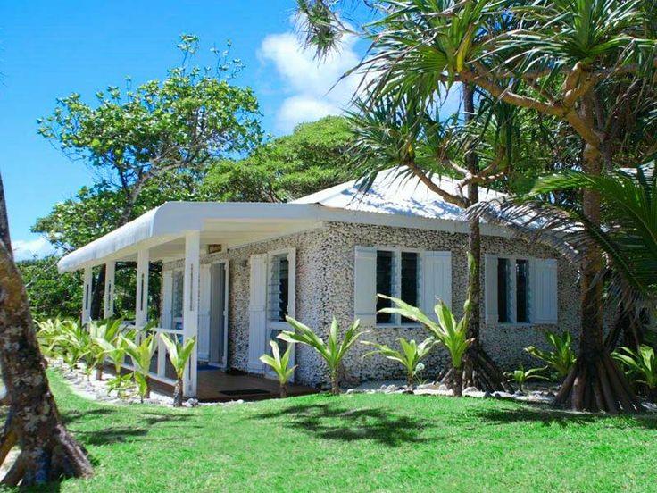 Beachfront Cottage at Tamanu On The Beach, Vanuatu  www.islandescapes.com.au