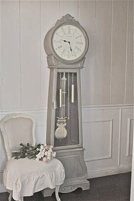 FRENCH COUNTRY COTTAGE: Antique inspired clock...chalk paint recipe.