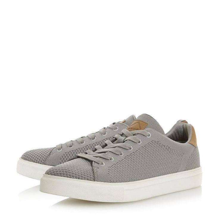 TOURE - Knitted Upper Lace-Up Trainer