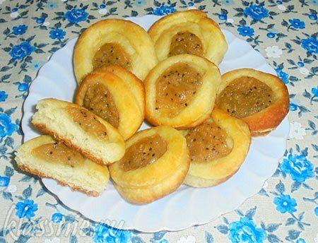 Веганские булочки с киви и яблоком | Классные вегетарианские рецепты