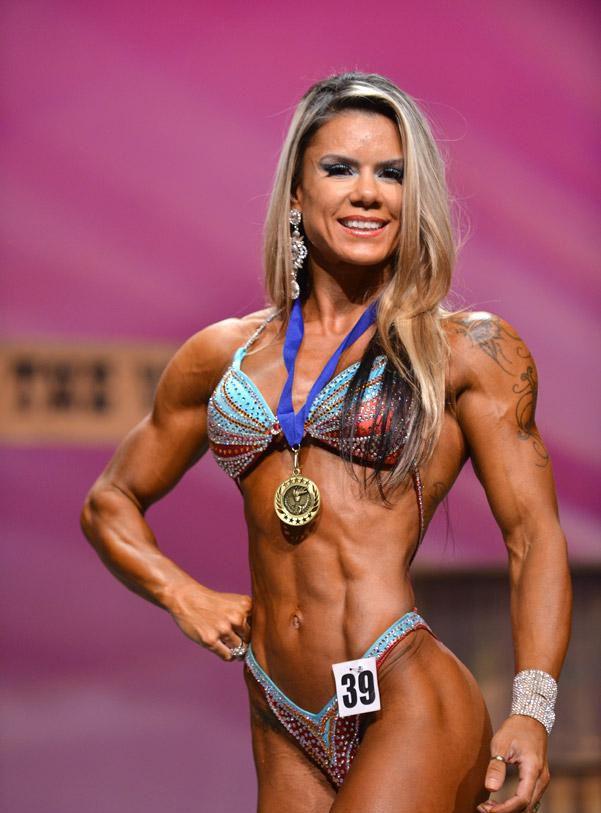 Renata Guaraciaba 1st Felicia Romero Pro 2014 Fitness