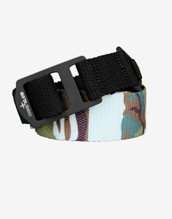 Belt - Accessories & shoes Stone Island Men on Stone Island Online Store - Autumn-Winter Collection for Men. Worldwide delivery.| 94369 FLOWING CAMO