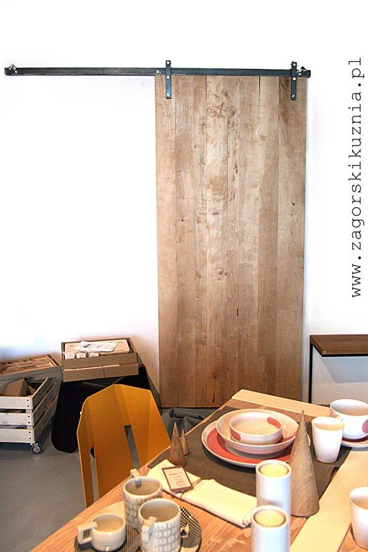 wooden door handmade by www.zagorskikuznia.pl