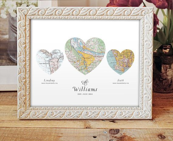 Wedding Gift Personalised: Wedding Or Engagement Gift