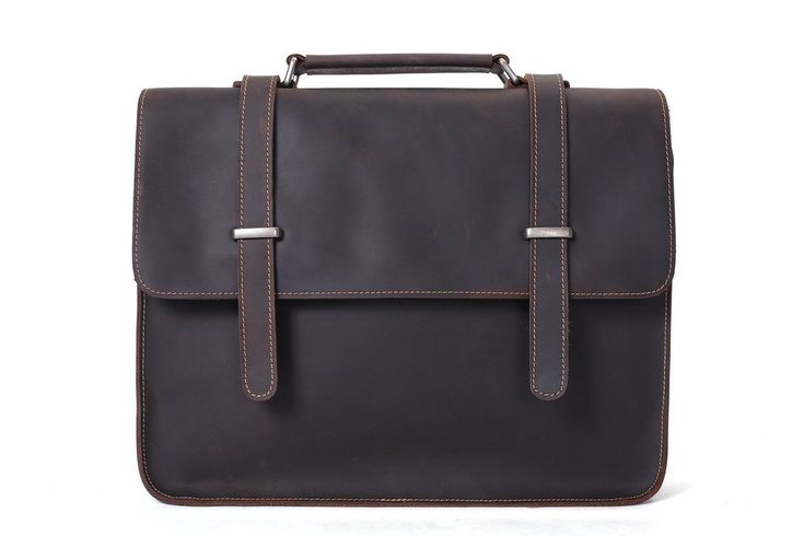 katashi leather laptop briefcase