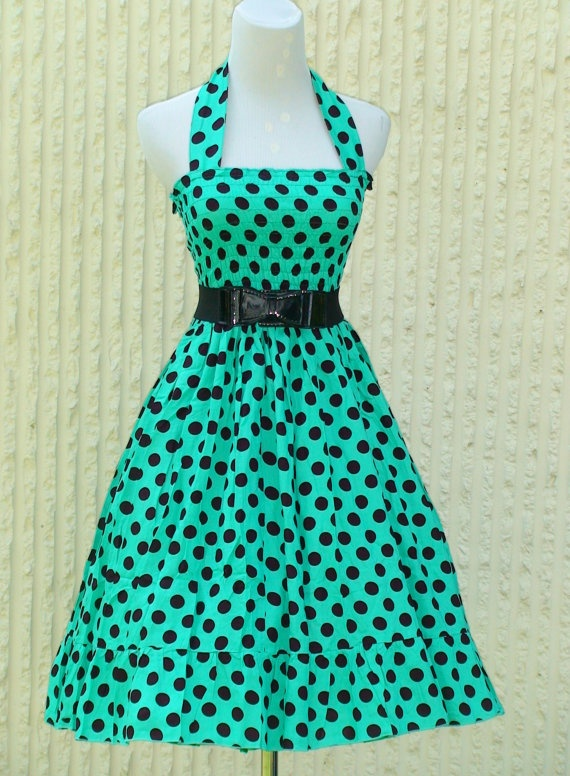 Vintage inspired  Retro Rockabilly swing summer by Darmianifashion, $59.00