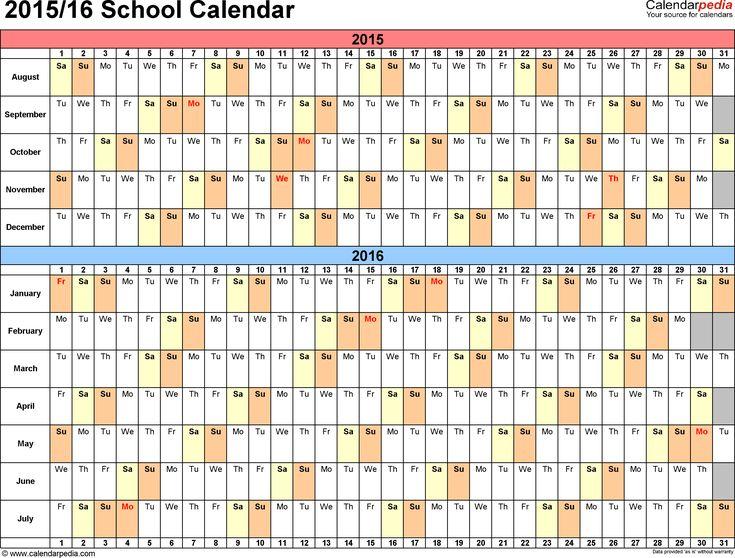 The 25+ best Excel calendar 2016 ideas on Pinterest Marguerite - office template calendar
