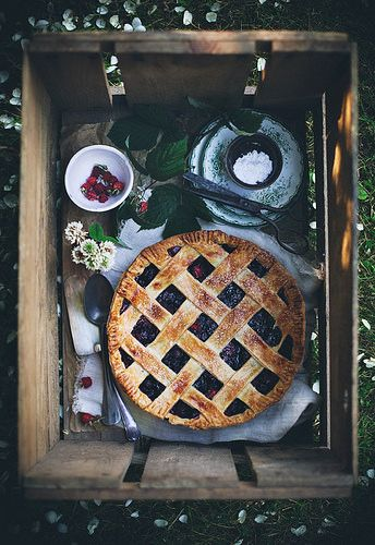 Berry pie by Call me cupcake, via Flickr