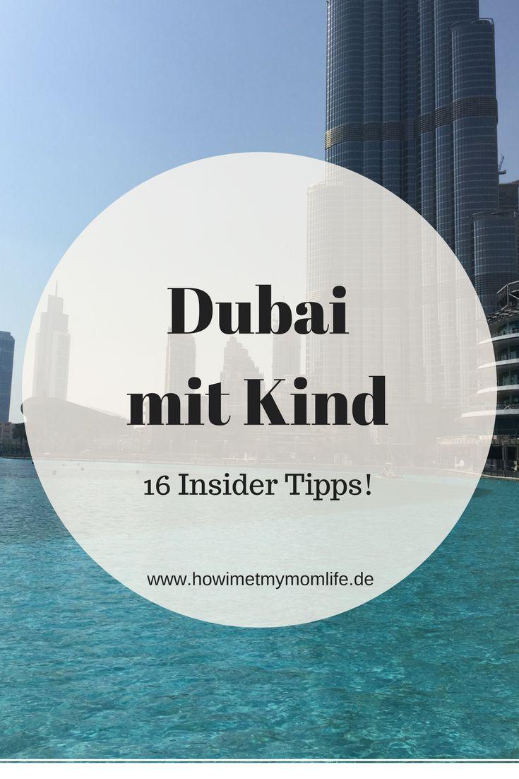 Dubai mit Kind. Ich erzähle auch warum Dubai ein perfektes Familienreiseziel ist und verrate euch 16 Ausflugstipps, die sich für die ganze Familie eignen! So macht Reisen mit Kindern Spaß!