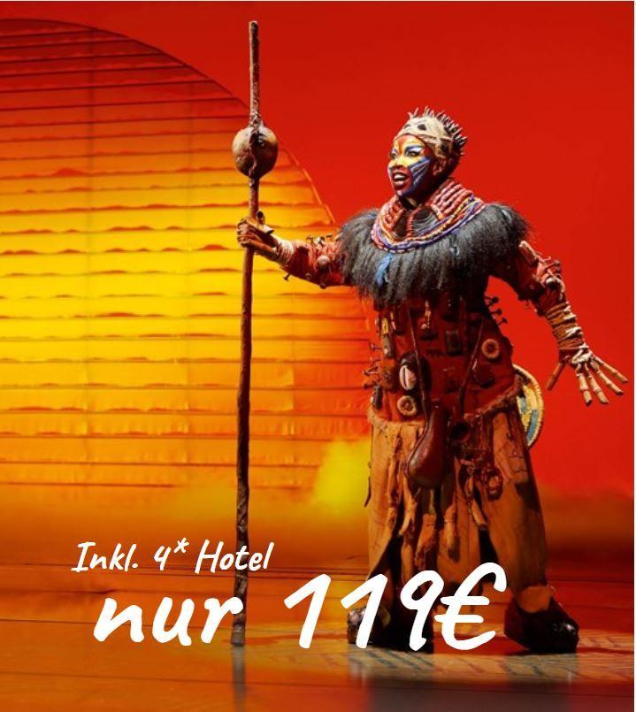 Konig Der Lowen Musical Tickets 4 Hotel Ab 89 Travelcircus Der Konig Der Lowen Musical Konig Der Lowen Musical In Hamburg